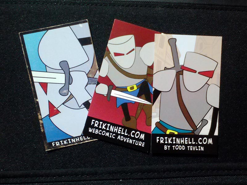 Prepping for your first convention – Business cards and handouts ...