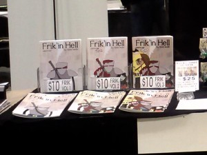 Book display stands - First ones