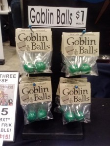 Goblin Balls display stands
