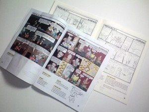 Making A Comic Mockup Of Your Work