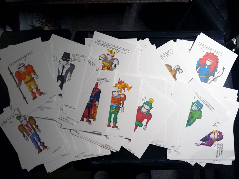 142 Frik in Cosplay Drawings Finished!
